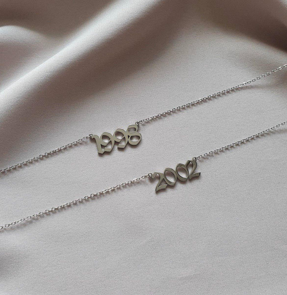 BIRTH YEAR ANKLET