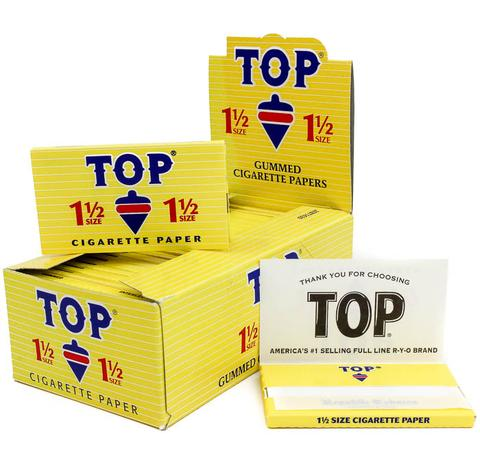 TOP 1-1/2 SIZE ROLLING PAPERS (24CT)