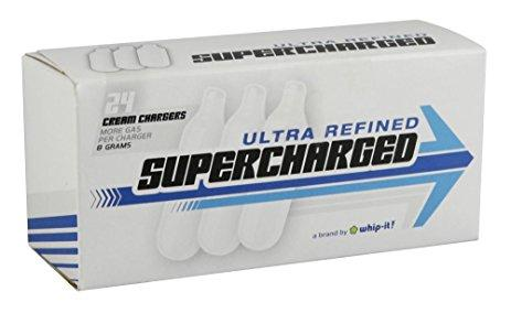 SUPER CHARGED CREAM CHARGERS (24CT)