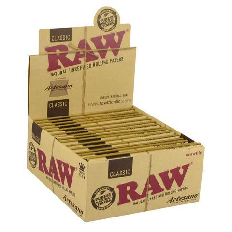 RAW Pre-Rolled Tips In a Tin 6Pk
