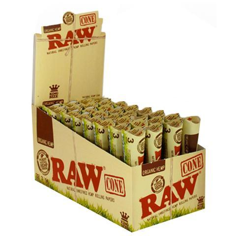 RAW CONE ORGANIC HEMP KING SIZE (32CT)