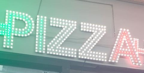 LED SIGN - PIZZA