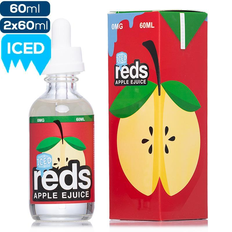 Reds Apple E Liquid 60 ML - Original Iced