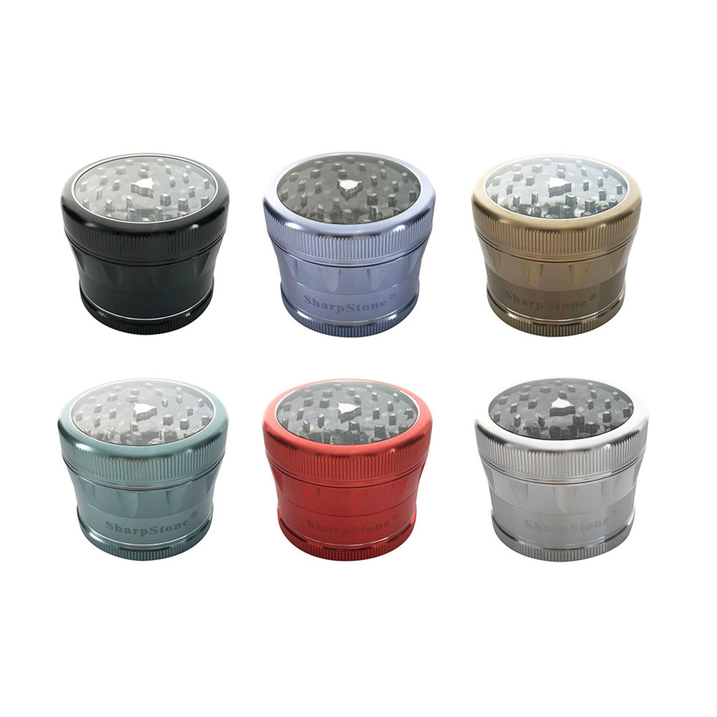SHARP STONE 2.0 CLEAR TOP 4 PART 63 MM GRINDER