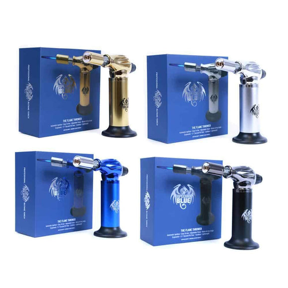 Special Blue Flame Thrower Dual Flame Torch -Assorted Colors