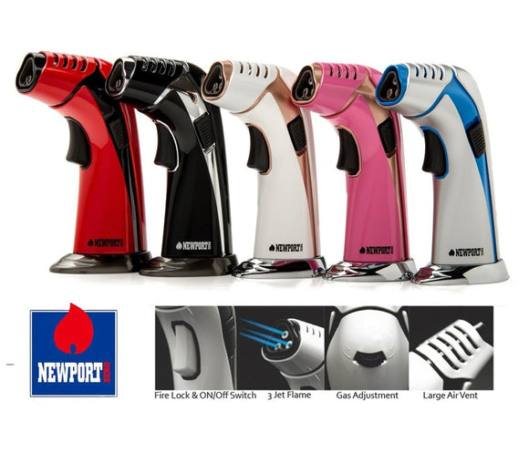 NEWPRT ZERO 3 JET TORCH LIGHTER
