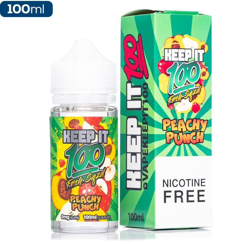 Keep It 100 E Liquid 100 ML - Peachy Punch