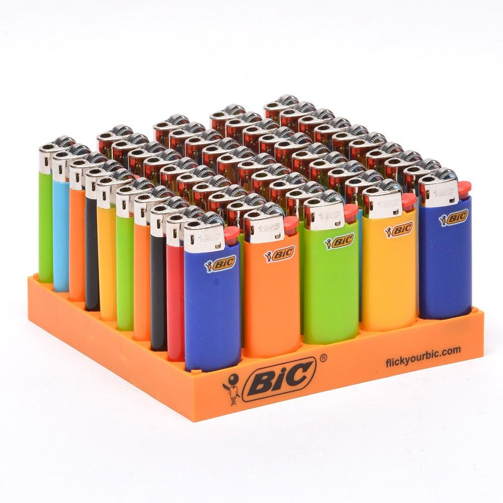 LIGHTER BIC SMALL 50 PCS