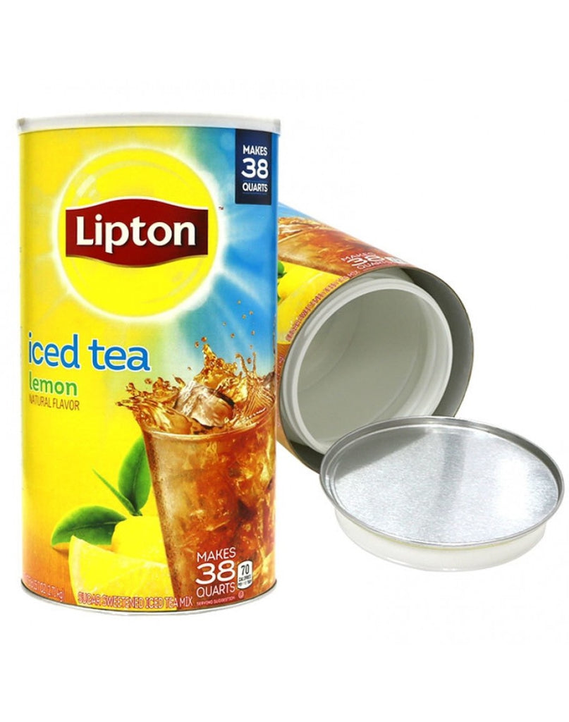 Lipton Iced Tea Lemon Safe Can
