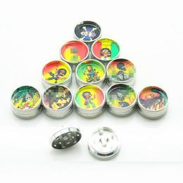 TOBACCO GRINDER 3 PCS SET (FANCY PRINT - SMALL)