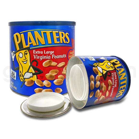 PLANTERS COCKTAIL PEANUTS SAFE CANS