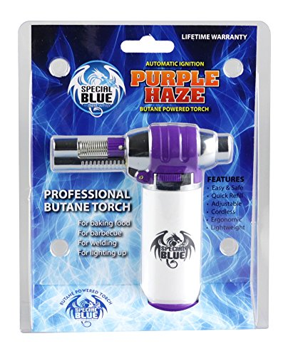 SPECIAL BLUE PURPLE HAZE BUTANE POWERED TORCH