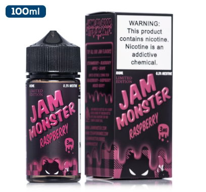 Jam Monster E Liquid 100 ML - Raspberry
