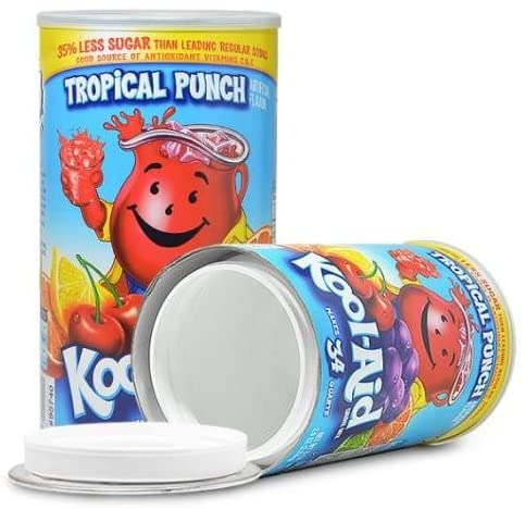 KOOL-AID DRINK MIX SAFE CAN