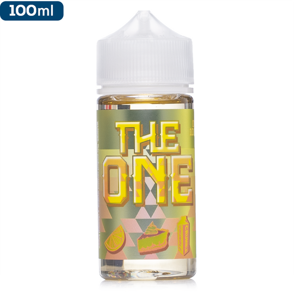 The One E Liquid 100 Ml - Lemon Crumble Tart
