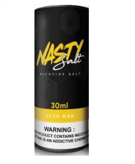 Nasty Salt E Liquid 60 ML - Cush Man