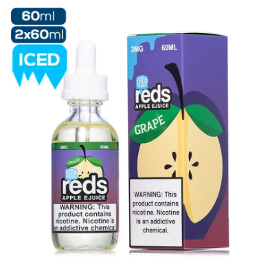 Reds Apple E Liquid 60 ML - Grape Iced