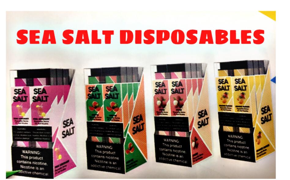 SEA SALT DISPOSABLE - DIFFERENT