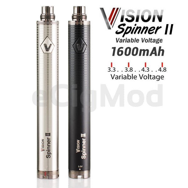 VISION SPINNER II VARIABLE VOLTAGE 1650 MAH BATTERY