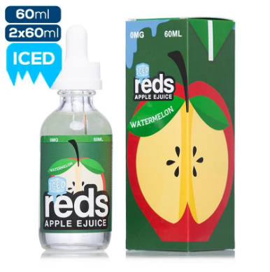 Reds Apple E Liquid 60 ML - Watermelon Iced