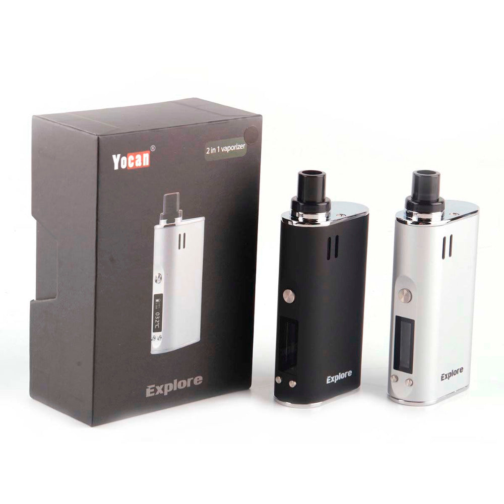 YOCAN EXPLORE 2 IN 1 VAPORIZER - TOBACCO AND CONCENTRATE