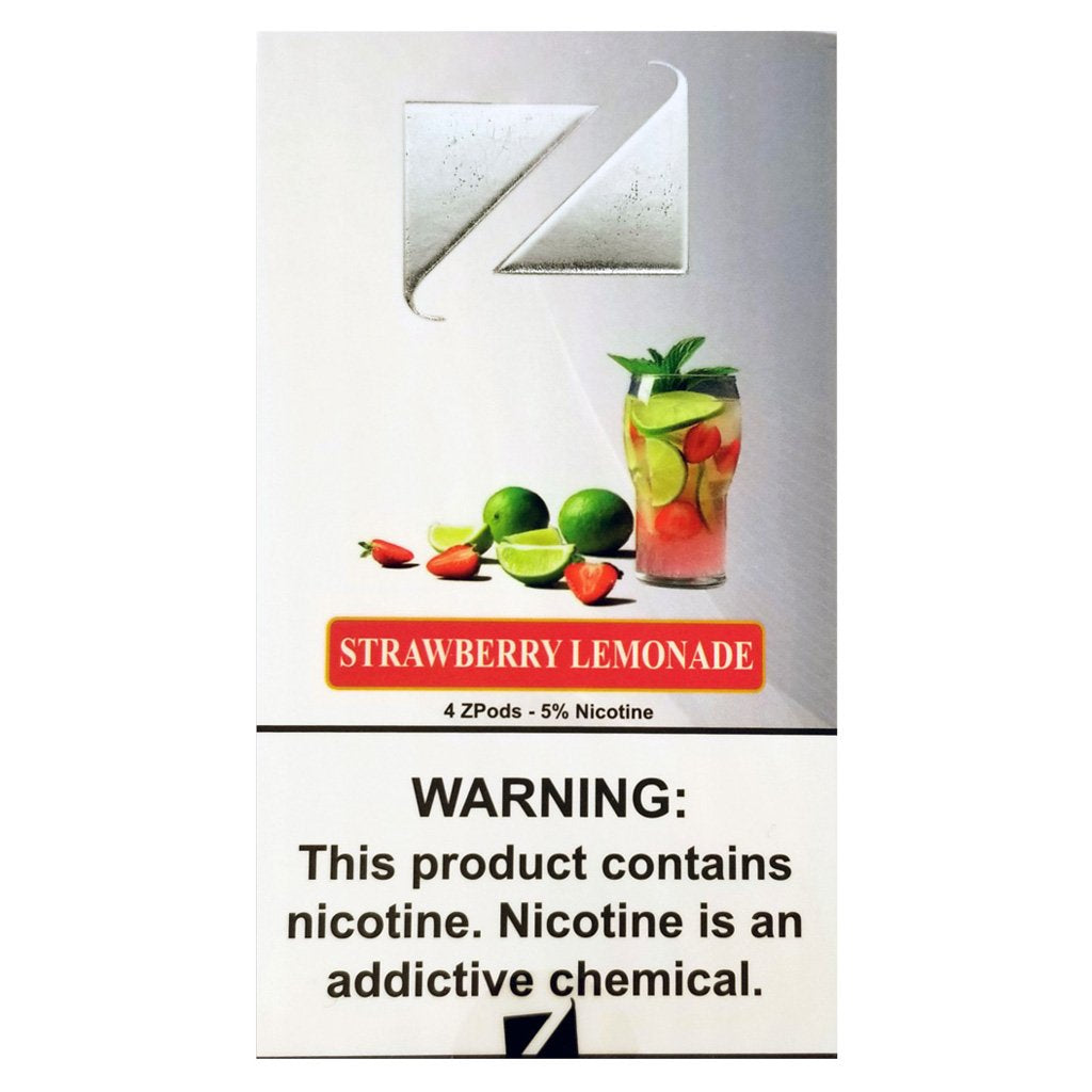 STRAWBERRY LEMONADE ZIIP PODS - REPLACEMENT COMPATIBLE PODS 4 PACK