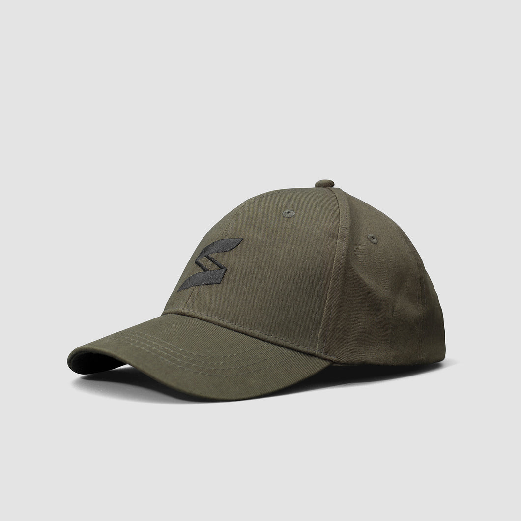 Sneakify Army Green Snap Cap