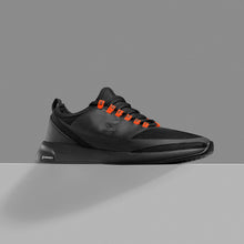Load image into Gallery viewer, Sneaker Herr/Dam Sneaki Svart/Orange