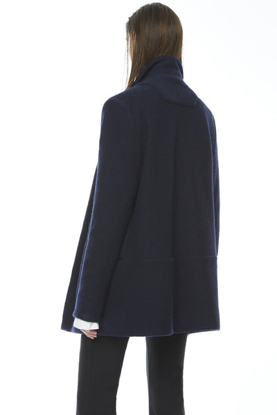 CA192BBW : UNISEX BOILED WOOL JACKET