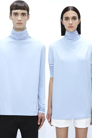 DR801LBJ : UNISEX TURTLE NECK TOP