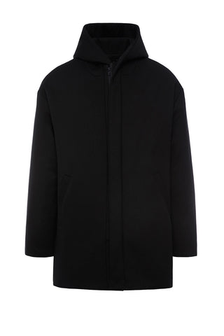 HD999BKC - UNISEX HOODED DOWN COAT