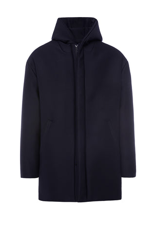 HD999NRN - UNISEX HOODED DOWN COAT