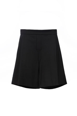PA193BKS - UNISEX PLEATED SHORTS
