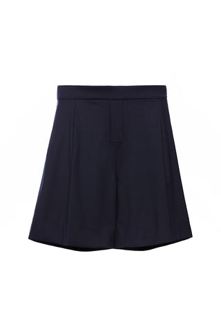 PA193NS - UNISEX PLEATED SHORTS