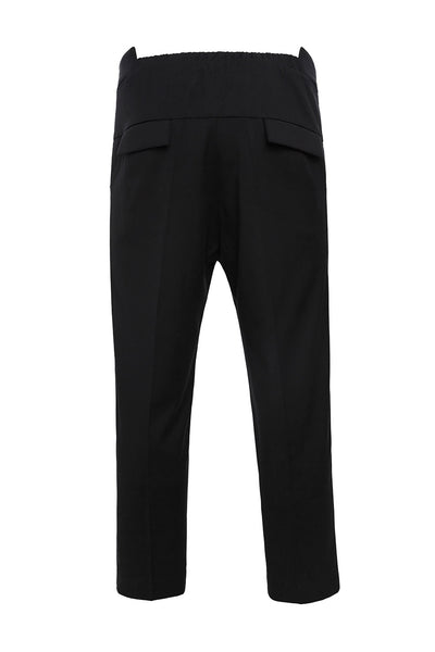 PA904BKS - UNISEX CROPPED TROUSERS
