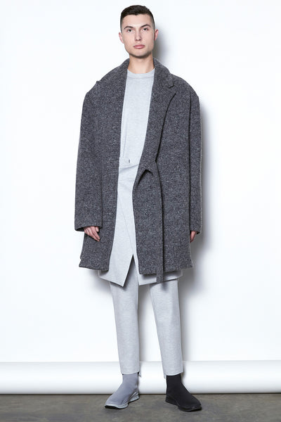 CO197GKNW - UNISEX WIDE COAT