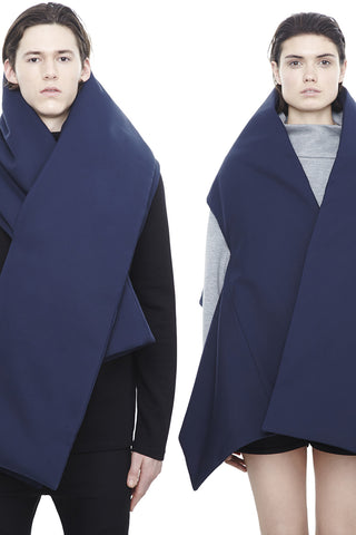 SC008BC : UNISEX WRAP TRANSFORMABLE SCARF