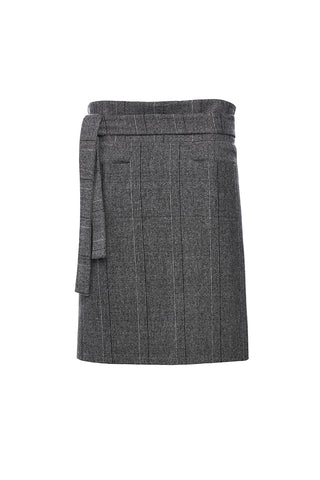 SK003PLAID - UNISEX WRAP SKIRT