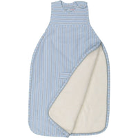 Merino Kids GoGo Bag Sherpa weight - Sky Blue/Grey