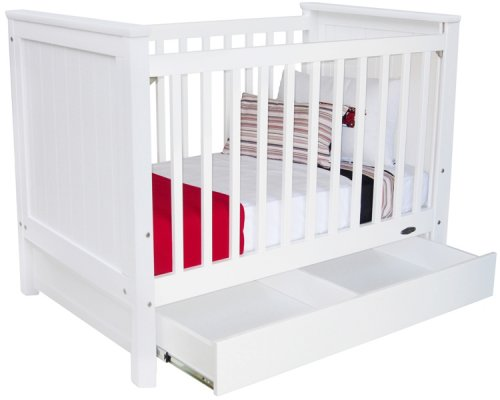 Optional Cot Drawer for all Touchwood safety cots - Babybirdie
