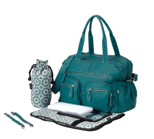 OiOi Turquoise Buffalo Carry All Nappy Bag - Babybirdie