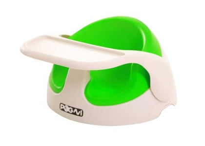 Pogni Portable Baby Seat and Tray - Green