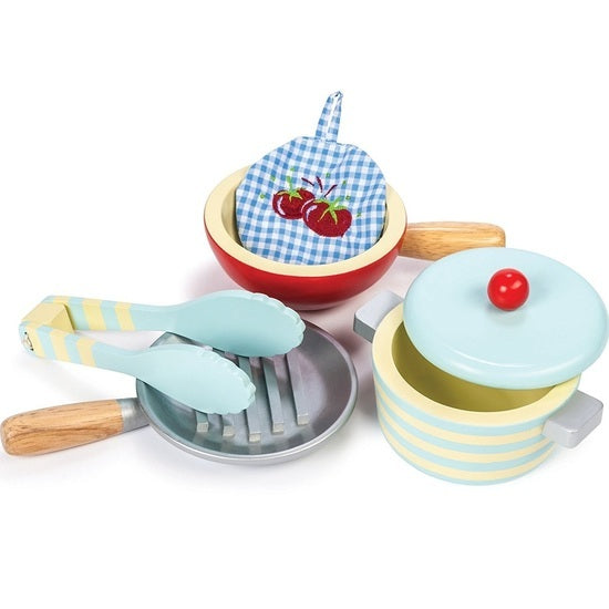 Le Toy Van Honeybake Pots and Pans - Babybirdie
