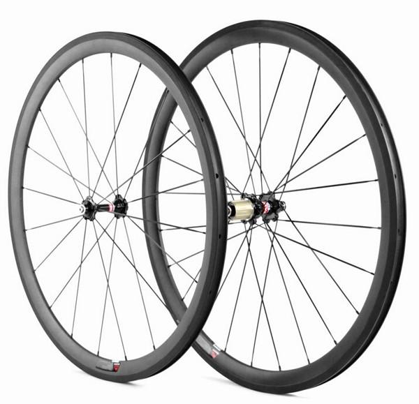 700c Carbon Road Bicycle Clincher wheelset 38mm clincher wheelset - hulkwheels