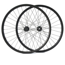 Load image into Gallery viewer, 650B carbon mountain bike wheel set 30mm wide - hulkwheels