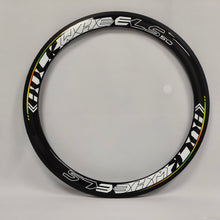 Load image into Gallery viewer, 23mm Width 700C 50mm Clincher Racing Road Bike Bicycle Carbon Fiber Rim with aero shape