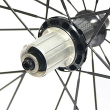 Load image into Gallery viewer, 23mm width 60mm carbon clincher/tubular road bicycle wheels - hulkwheels