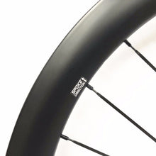 Load image into Gallery viewer, Cyclocross Wheelset 30*27mm Carbon road bike wheel Tubeless Ready with disc hub