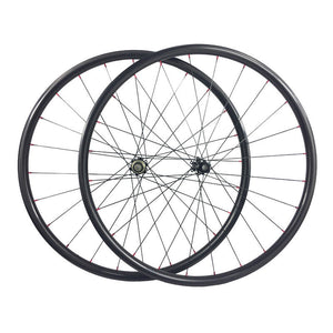 30mm Outer wide carbon mountain bike wheels bicycle carbon wheelset for AM XC