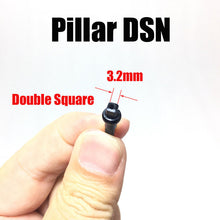 Load image into Gallery viewer, Pillar DSN 14G double square Alloy MTB road bike alloy nipples 100pcs